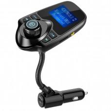 d8e24c4f495f Bluetooth FM transzmitter T10